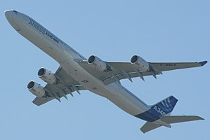 Airbus A340 - The A340-600 was the longest passenger airliner until the 2010 Boeing 747-8