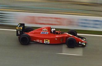 Ferrari 641 - Alain Prost driving the 641 at the 1990 Canadian Grand Prix.