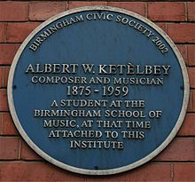 Albert W Ketèlbey blue plaque.jpg