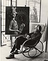 Alberto Abate sulla sedia a dondolo (2006).jpg