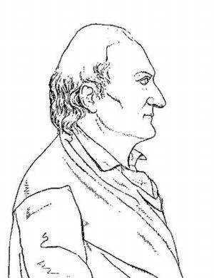 Alberto Fortis - Sketch of Alberto Fortis in the Galleria dei letterati ed artisti più illustri delle provincie Austro - Venete che fiorirono nel secolo XVIII. Venezia, 1822, by Bartolommeo Gamba.