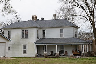National Register of Historic Places listings in Benton County, Arkansas - Image: Alden House