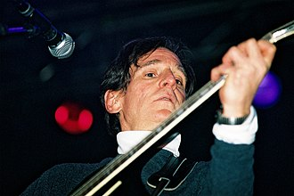 Power pop - Alex Chilton, of Big Star, seen in 2004