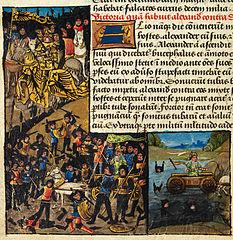 Alexander's third victory over Darius