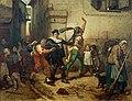Alfred Stevens, Masques le matin du Mercredi des Cendres, 1853, 150 x 116 cm.jpg