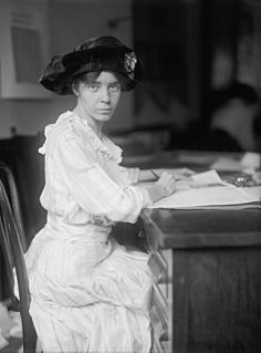 Alice Paul American suffragette