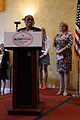 Alicia Hinds Ward, 2013 National Guard Spouse of the Year, speaks during the 2013 Military Spouse of the Year Awards ceremony at Arlington, Va., May 9, 2013 130509-D-BN624-100.jpg