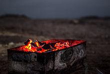 feu à bois