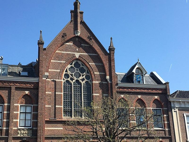 File:Alkmaar - Oudegracht 214a - Kloosterkapel.jpg
