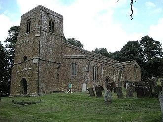 Burton Dassett - The parish church