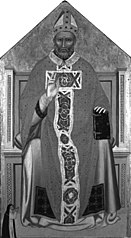 Bishop Saint Enthroned