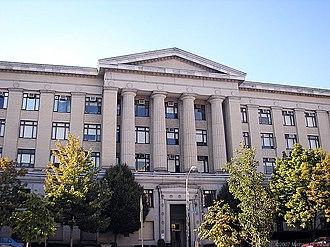 Allen Hall (University of Pittsburgh) - Allen Hall at the University of Pittsburgh
