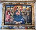 Allievo di benozzo gozzoli, madonna col bambino e santi dall'università dei cappellani del duomo di pisa, 1470.JPG