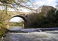 Allt-y-Cafan Bridge and Weir - geograph.org.uk - 741650.jpg
