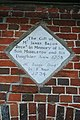 Almshouse dedication plaque at Blewbury, Oxfordshire - geograph.org.uk - 1365847.jpg