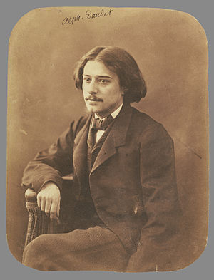 Alphonse Daudet - Alphonse Daudet, circa 1860 (The J. Paul Getty Museum)