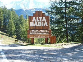 Alta Badia - Image: Alta Badia