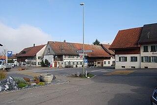 Altikon Place in Zurich, Switzerland