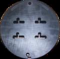 Aluminium extrusion die front.png
