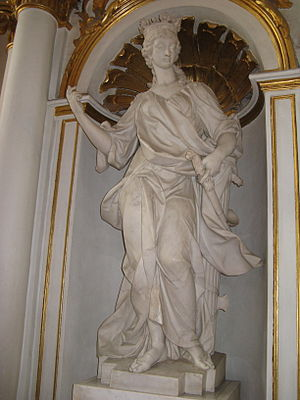 Alvise Tagliapietra - Tagliapietra's Justice, main staircase of the Winter Palace in the Hermitage