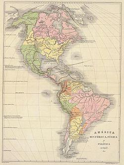 América física y política 1840.JPG