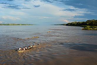 Fresh water - Image: Amazonas, Iquitos Leticia, Kolumbien (11472506936)