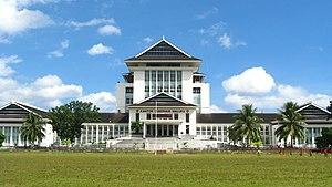 Ambon, Maluku - Government office in Ambon.
