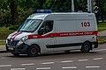 Ambulance on call (Minsk, July 2030) 03.jpg
