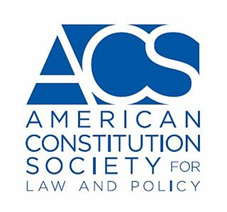 American Constitution Society organization