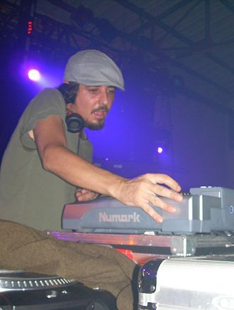 Amon Tobin - Tobin performing at l'Ososphère music festival in Strasbourg