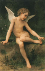 Cupid with a thorn