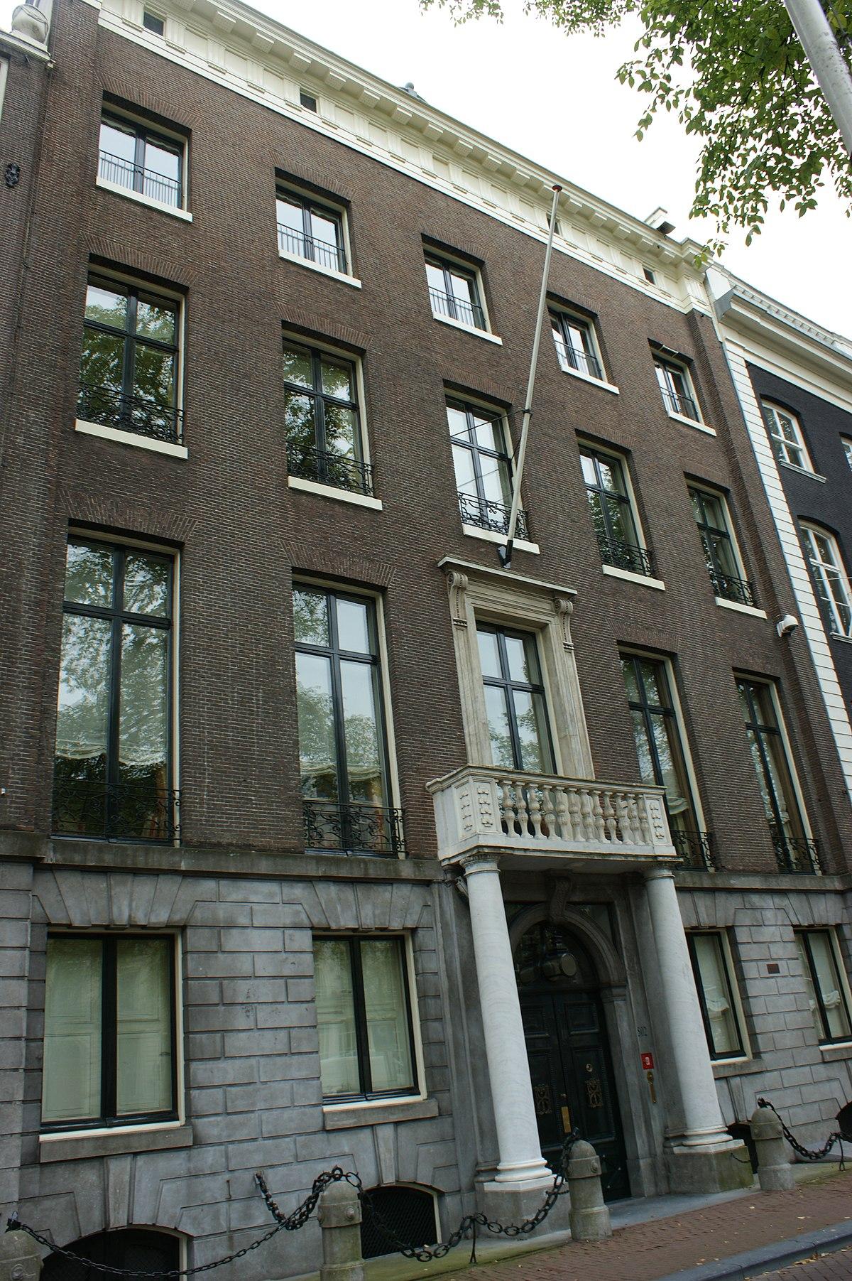 Huis met de kolommen wikipedia for Herengracht amsterdam
