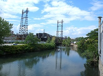 Harlem River and Port Chester Railroad - Bronx River crossing