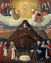 Bolivia-Religion-Fil:Anónimo - La Virgen del Cerro, 1720