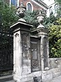 Ancient gate outside St Andrew-by-the-Wardrobe - geograph.org.uk - 923499.jpg
