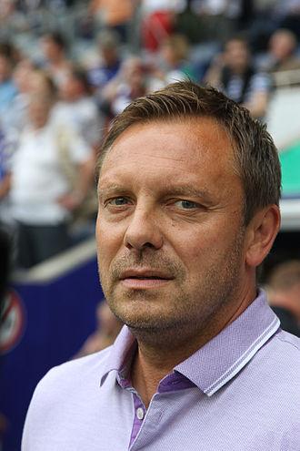 André Breitenreiter - Breitenreiter as a coach of Schalke 04 in 2015