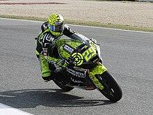 Andrea Iannone al Gran Premio del Portogallo del 2011