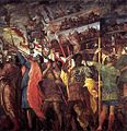 Andrea Mantegna - The Triumphs of Caesar - Trumpeters and Standard-Bearer - WGA13990.jpg