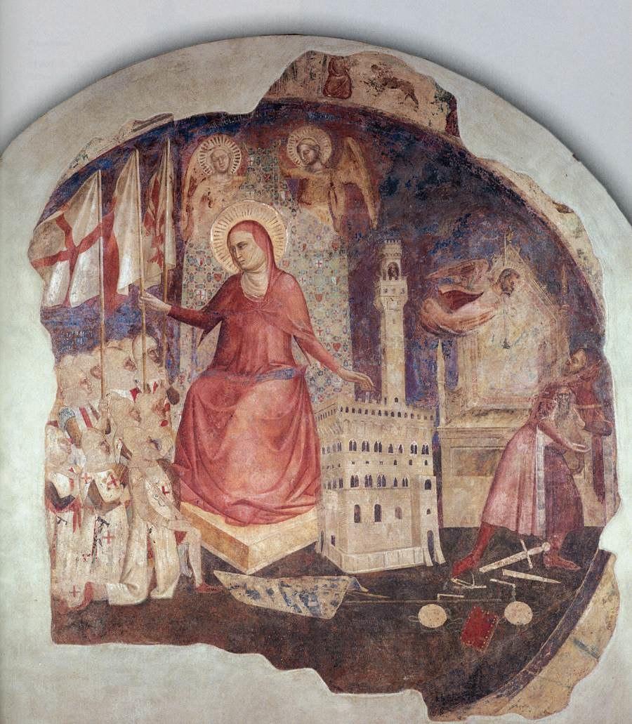 Andrea Orcagna - The Expulsion of the Duke of Athens - WGA16663