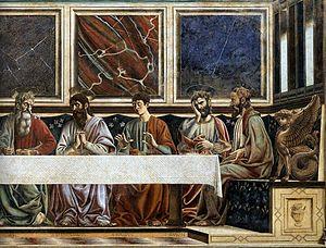 Last Supper (del Castagno) - Andrea del castagno, sant'apollonia 05