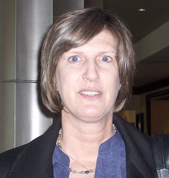 Anne Donovan - Donovan at the 2011 Women's Basketball Coaches Association convention at Indianapolis