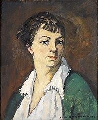 Anne Goldthwaite - Self-Portrait - 20.395 - Rhode Island School of Design Museum.jpg