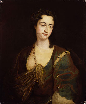 Anne Oldfield - Anne Oldfield, by an unknown artist, held by the National Portrait Gallery