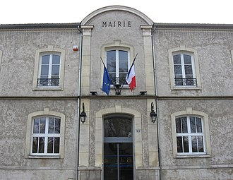 Annet-sur-Marne - The town hall in Annet-sur-Marne