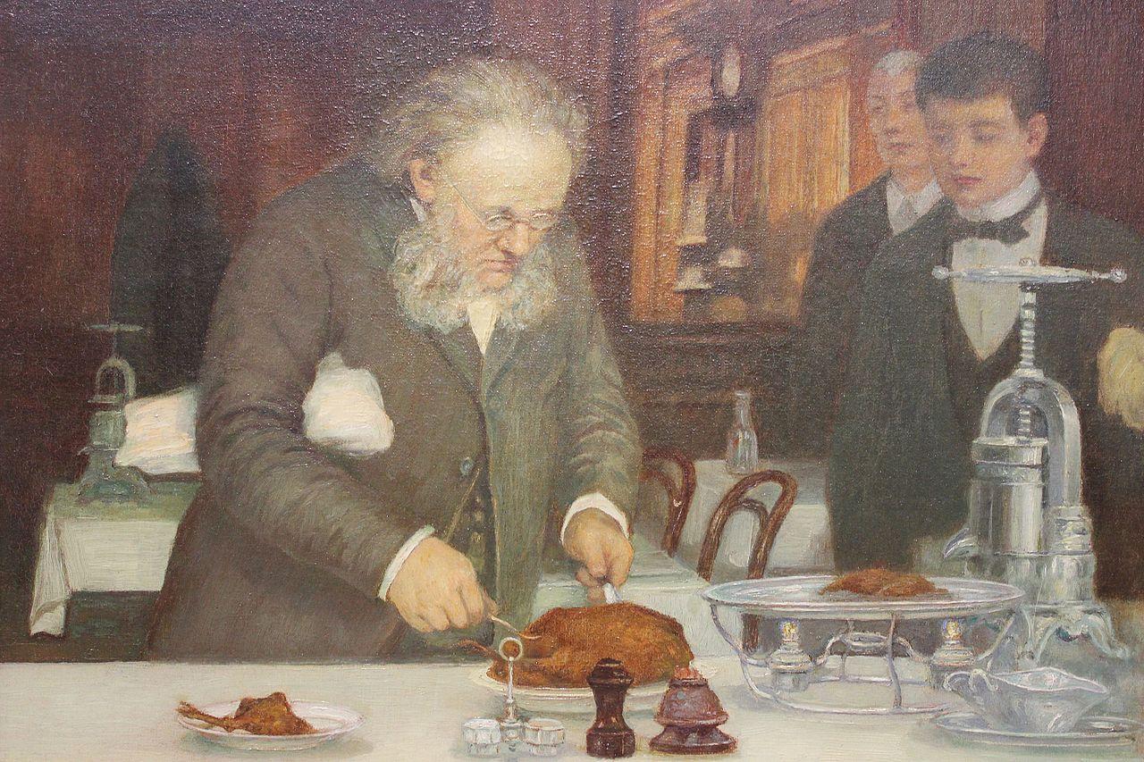 Fichier Anonyme fin XIXe siècle - Frédéric découpant le canard - restaurant  La Tour d argent.jpg 9aad08642fb