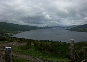 Another view down Loch Fyne from hill above Strachur but in slightly better weather. - geograph.org.uk - 20551.jpg