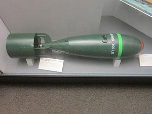 Anti-submarine bomb, Merseyside Maritime Museum.jpg