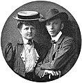 Antonín Vojtěch Horák s chotí (1910).jpg