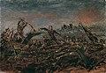 Anton Romako - Totentanz auf dem Schlachtfeld vor brennenden Ruinen - 5033 - Österreichische Galerie Belvedere.jpg