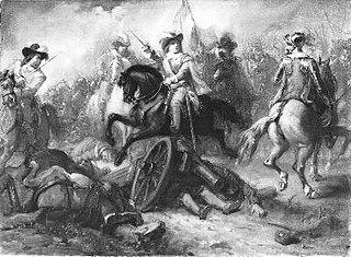 Anno 1643. Het eerste wapenfeit van de jonge prins Willem II